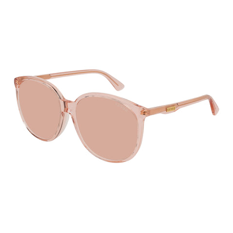 Gucci Female Gg0261sa Orange Round Sunglasses