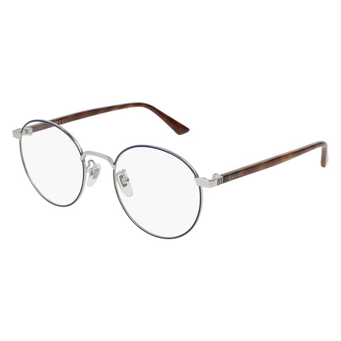 Gucci Uni-sex Gg0297ok Blue Round Optical Frames