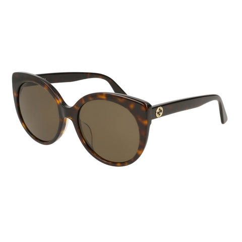 Gucci Female Gg0325sa Tort Cat-eye Sunglasses
