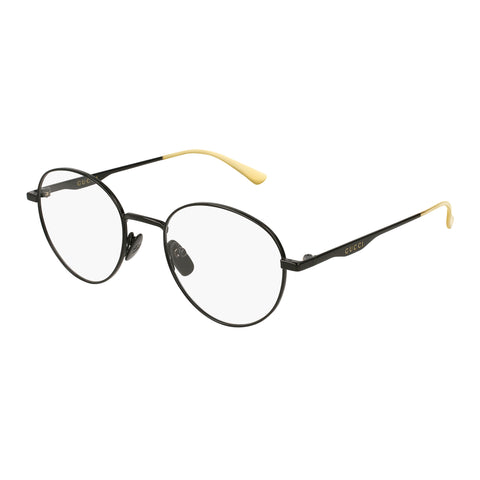 Gucci Male Gg0337o Black Round Optical Frames