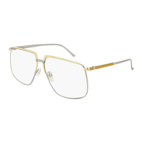 Gucci Female Gg0365s Gold Modern Rectangle Sunglasses