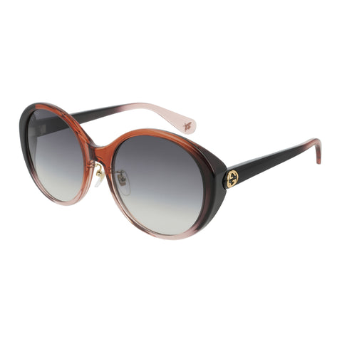 Gucci Female Gg0370sk Red Round Sunglasses