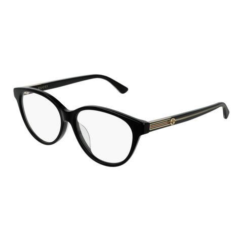 Gucci Female Gg0379oa Black Round Optical Frames