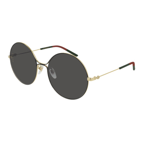 Gucci Female Gg0395s Gold Round Sunglasses