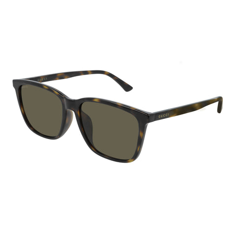 Gucci Male Gg0404sa Tort Modern Rectangle Sunglasses