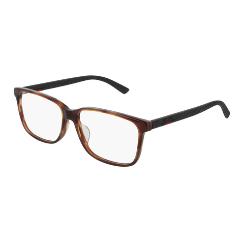 Gucci Male Gg0426oa Tort Aviator Optical Frames