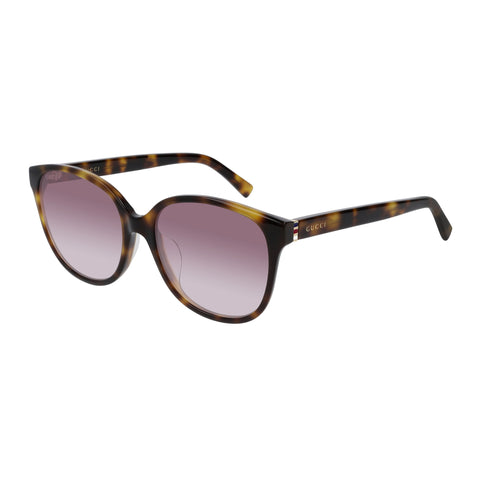 Gucci Female Gg0461sa Tort Modern Rectangle Sunglasses