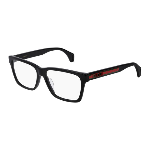 Gucci Male Gg0466oa Black Modern Rectangle Optical Frames