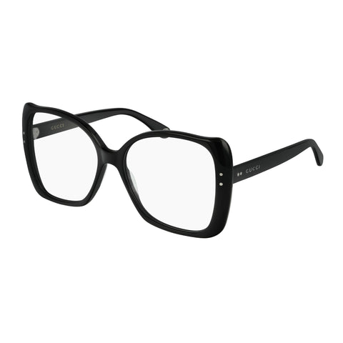 Gucci Female Gg0473o Black Modern Rectangle Optical Frames