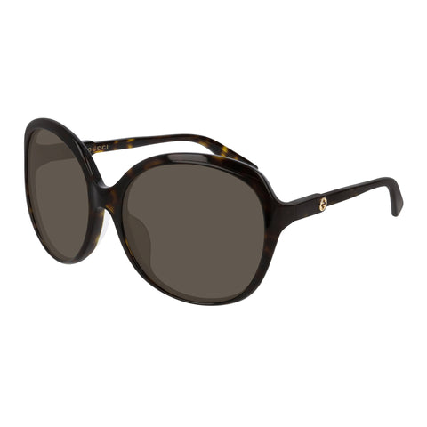 Gucci Female Gg0489sa Tort Round Sunglasses