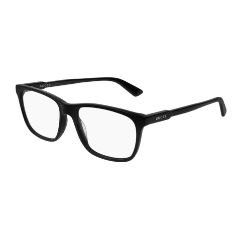 Gucci Male Gg0490o Black Modern Rectangle Optical Frames