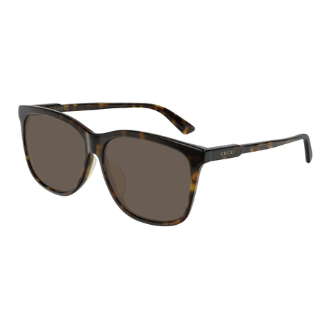 Gucci Uni-sex Gg0495sa Tort Modern Rectangle Sunglasses