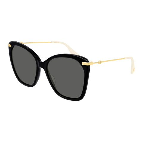 Gucci Female Gg0510s Black Round Sunglasses