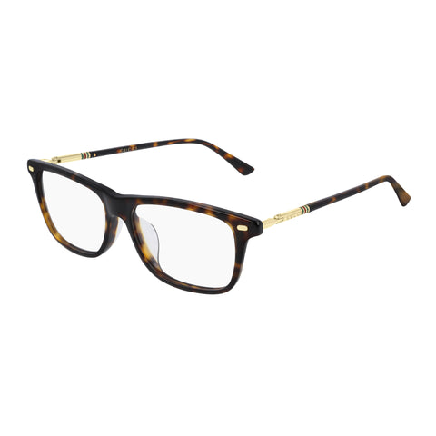 Gucci Male Gg0519oa Tort Modern Rectangle Optical Frames