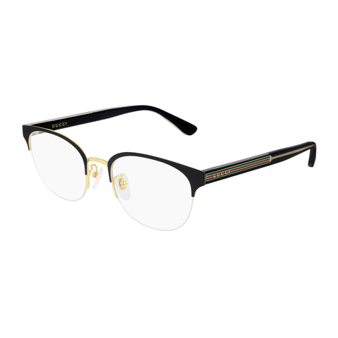 Gucci Male Gg0531oa Black Modern Rectangle Optical Frames