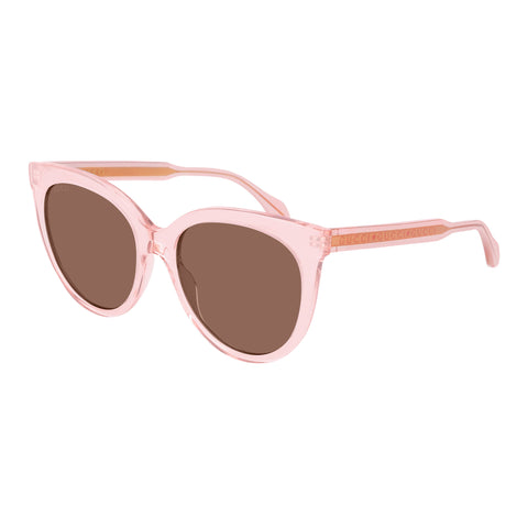 Gucci Female Gg0565s Pink Cat-eye Sunglasses