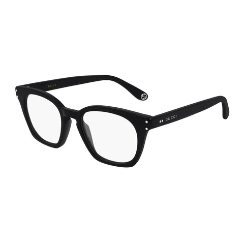 Gucci Male Gg0572o Black Rectangle Optical Frames