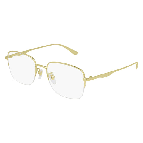 Gucci Male Gg0868oa Gold Rectangle Optical Frames