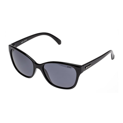 Glarefoil Female Klein Black Cat-eye Sunglasses