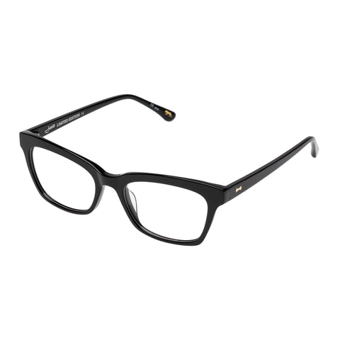 Jono Hennessy Female Mad Black Square Optical Frames