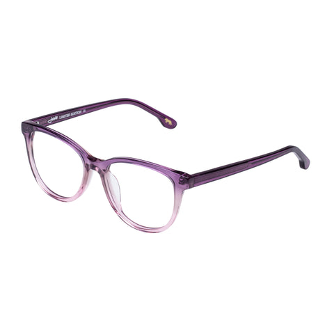 Jono Hennessy Female Mink Purple Square Optical Frames