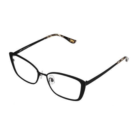 Jono Hennessy Female Monte Black Butterfly Optical Frames