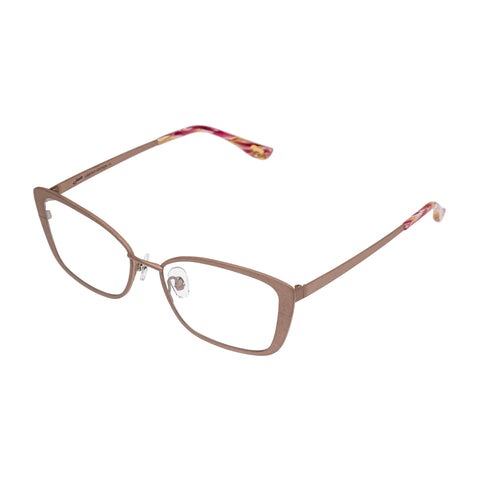 Jono Hennessy Female Monte Gold Butterfly Optical Frames