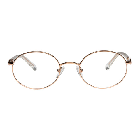 Karen Walker Female Ada Rose Oval Optical Frames