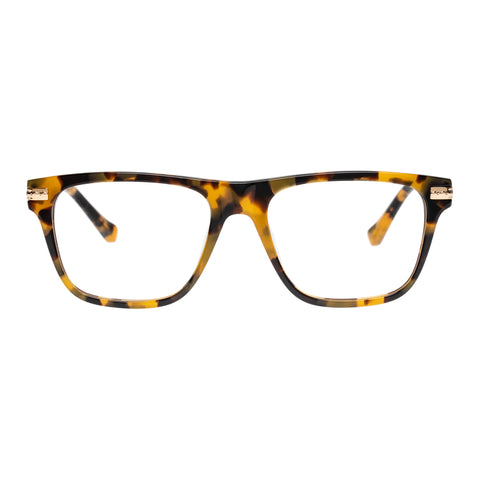 Karen Walker Uni-sex Frances Alt Fit Tort Modern Rectangle Optical Frames
