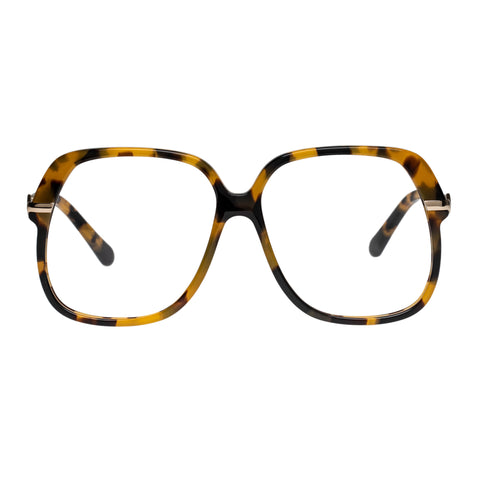 Karen Walker Female Harriet Alt Fit Tort Aviator Optical Frames