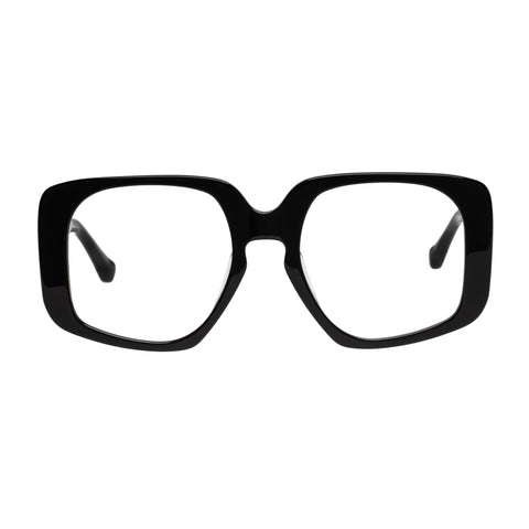 Karen Walker Uni-sex Amna Black Square Optical Frames