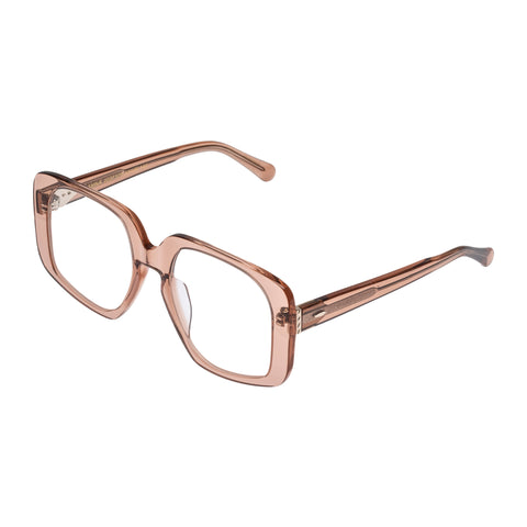Karen Walker Uni-sex Amna Tan Square Optical Frames