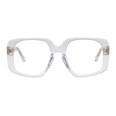 Karen Walker Uni-sex Amna Clear Square Optical Frames