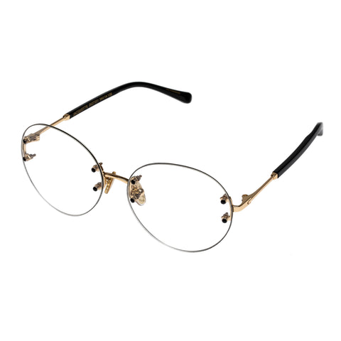 Karen Walker Female Jacquotte Black Round Optical Frames