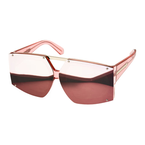 Karen Walker Uni-sex Salvador Grey Wrap Fashion Sunglasses