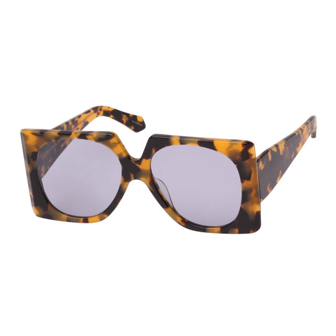 Karen Walker Female Return To Sender Tort Square Sunglasses