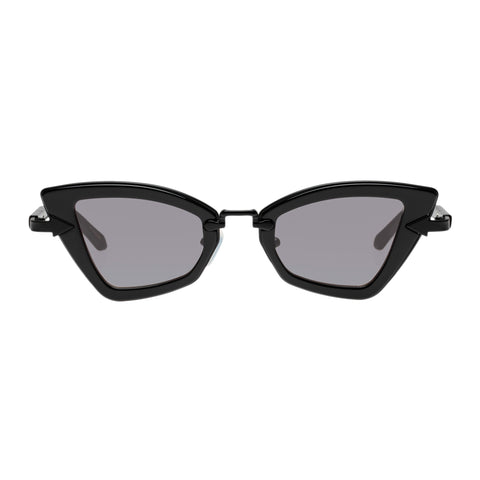 Karen Walker Female Bad Apple Black Cat-eye Sunglasses