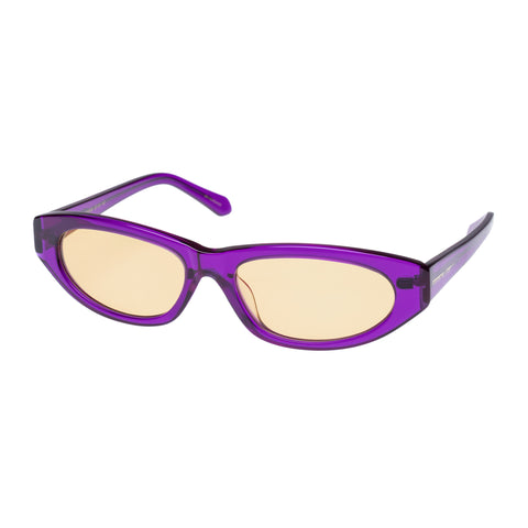 Karen Walker Female Paradise Lost Purple Wrap Fashion Sunglasses