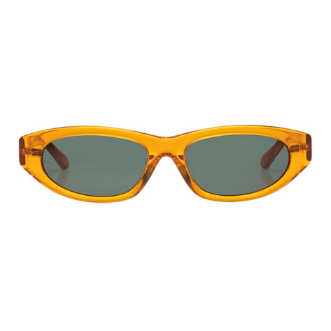 Karen Walker Female Paradise Lost Orange Wrap Fashion Sunglasses