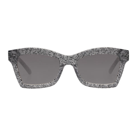 Karen Walker Female Blessed Silver Cat-eye Sunglasses