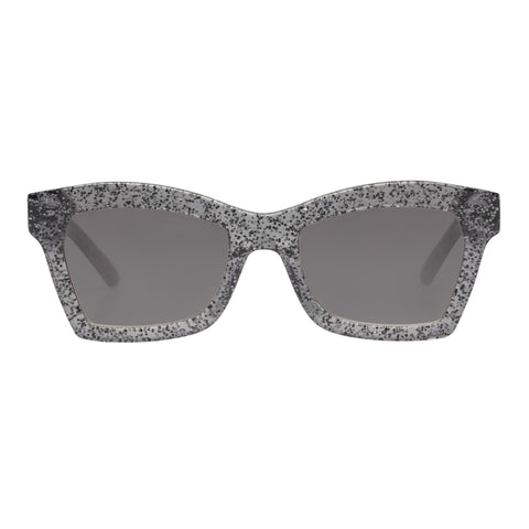 Karen Walker Female Blessed (alt Fit) Silver Cat-eye Sunglasses
