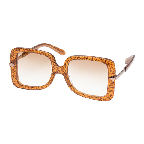 Karen Walker Female Eden (alt Fit) Bronze Square Sunglasses
