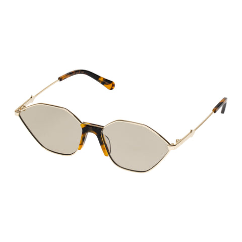 Karen Walker Female Game Tort Cat-eye Sunglasses
