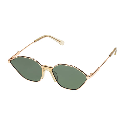 Karen Walker Female Game Yellow Cat-eye Sunglasses