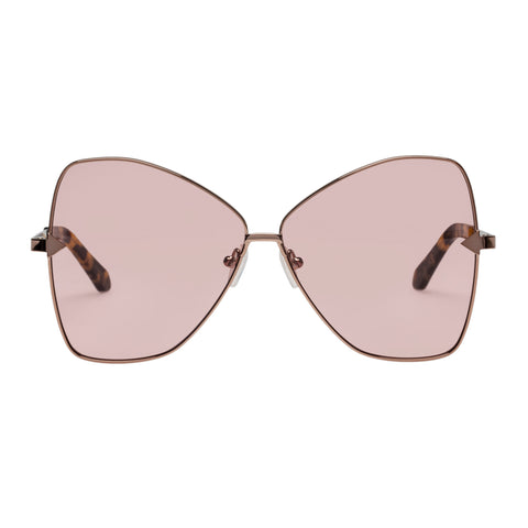 Karen Walker Female Queen Tort Butterfly Sunglasses