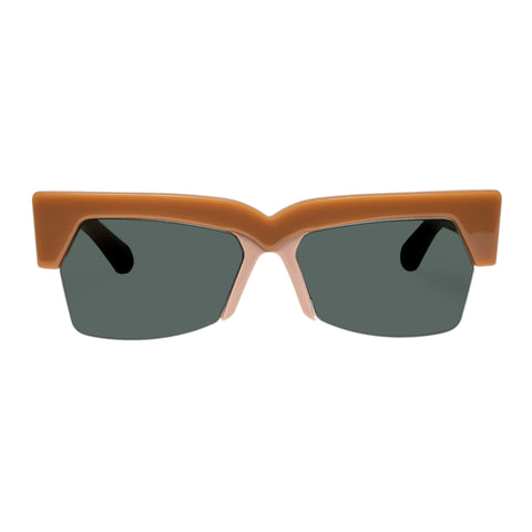 Karen Walker Female Ezra Tan Cat-eye Sunglasses