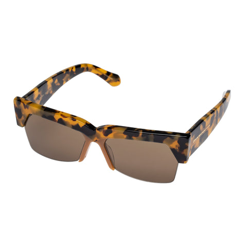 Karen Walker Female Ezra Tort Cat-eye Sunglasses
