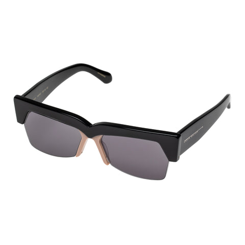 Karen Walker Female Ezra Black Cat-eye Sunglasses
