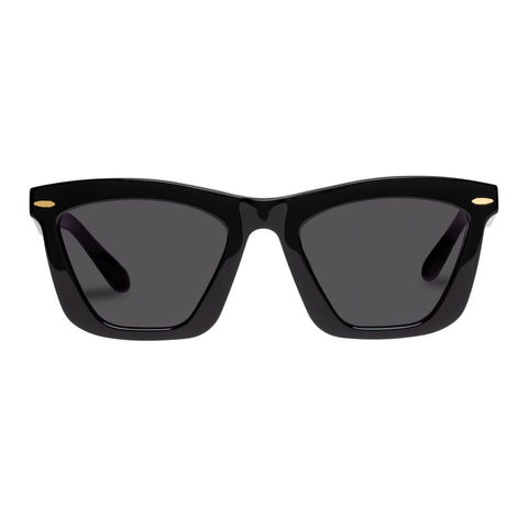 Karen Walker Female Alexandria (alt Fit) Black Cat-eye Sunglasses