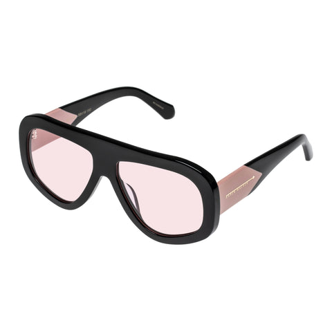 Karen Walker Female Centurion Black Shield Sunglasses